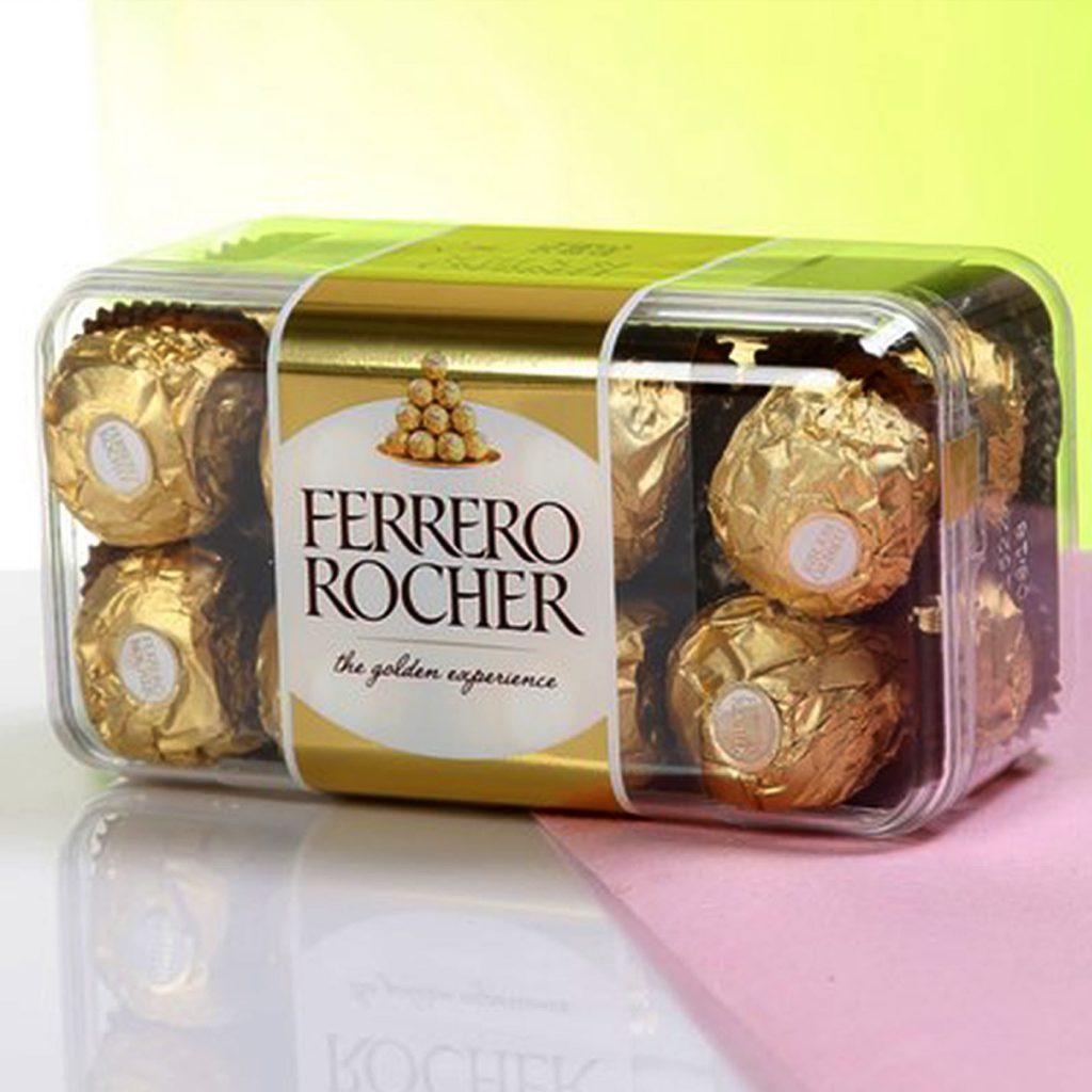 Ferrero Rocher (16 pcs), 200 gm Chocolate Box