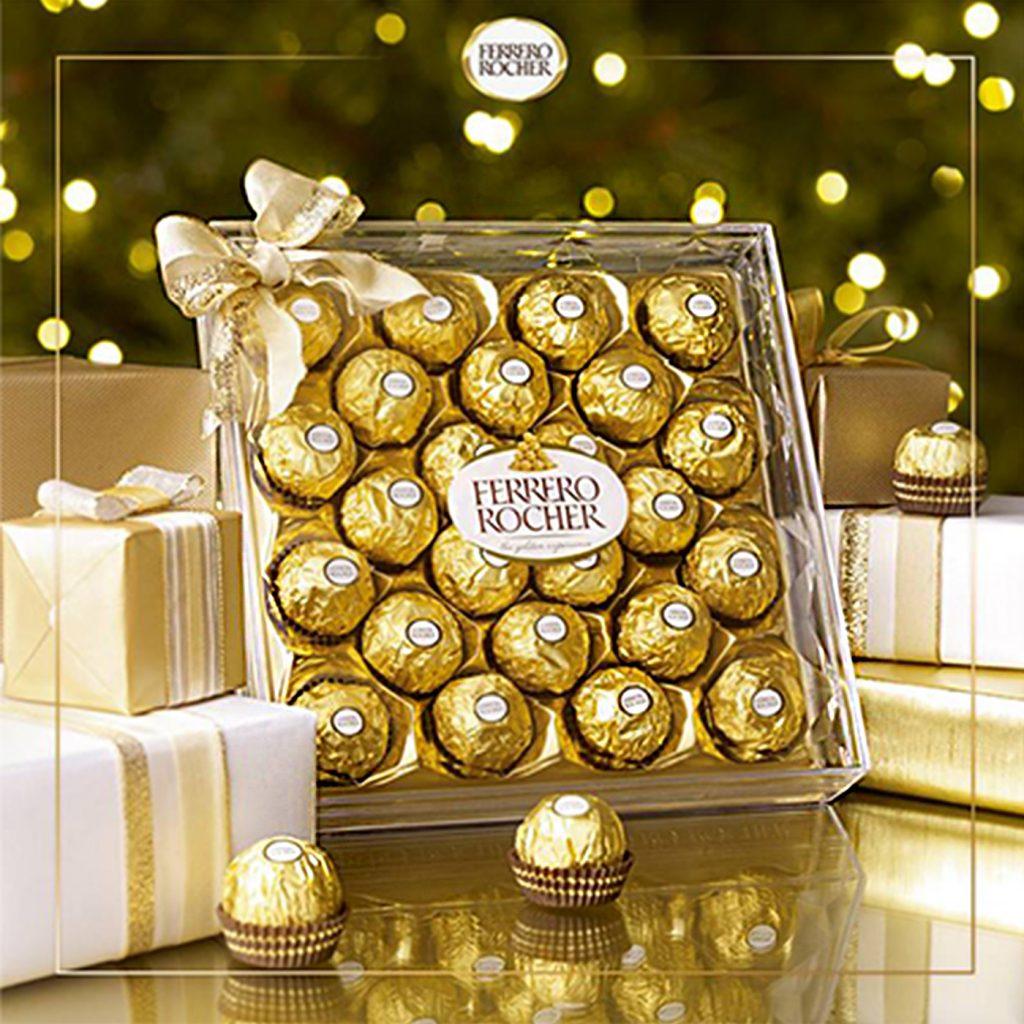 Ferrero Rocher (24 pcs), 300 gm Chocolate Box
