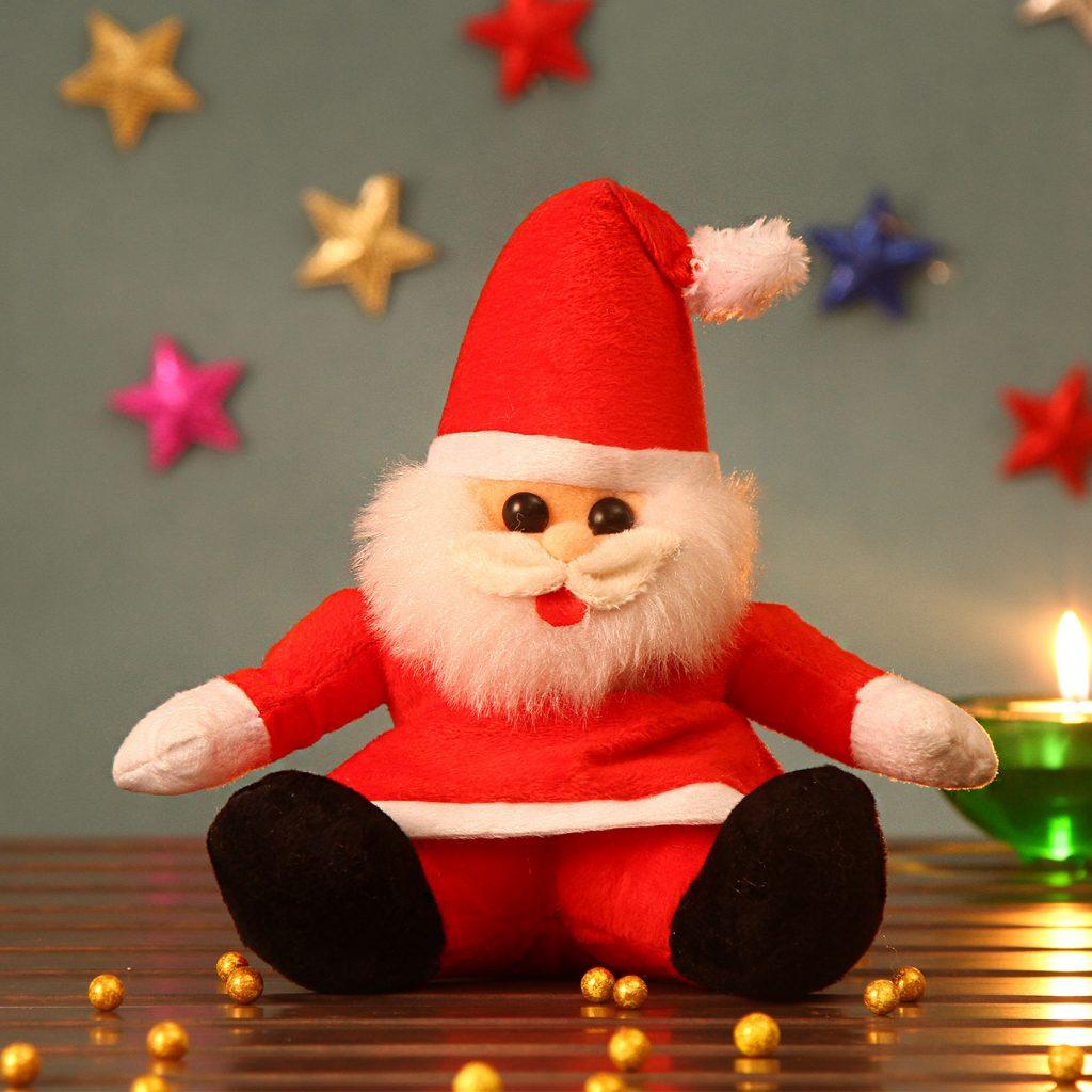 Adorable Santa Teddy