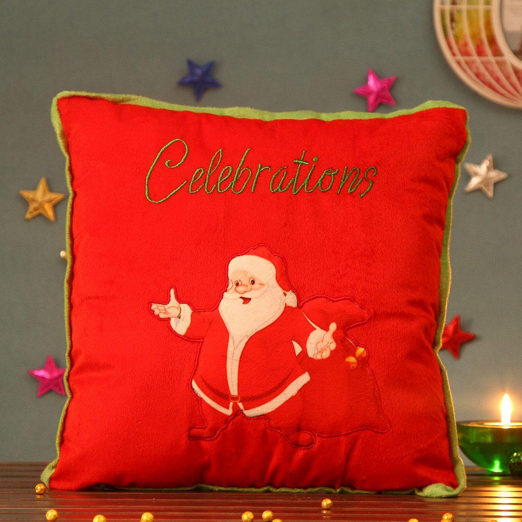 Cute Christmas Santa Cushion