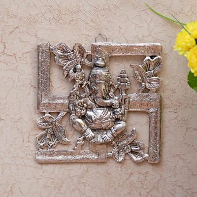 Swastik Ganesh Wall Hanging