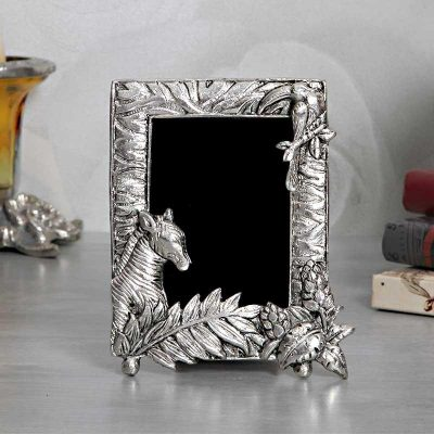Horse Metalic Photo Frame