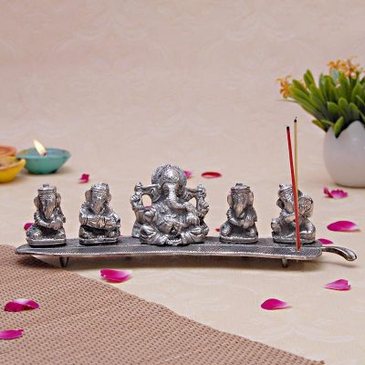 5 Ganesh Incense Stick Holder