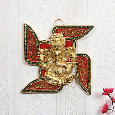 Ganesh- Swastik