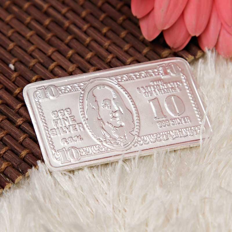Silver Dollar (10 Gms)