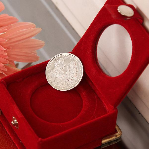 Laxmi Ganesha Silver Coin (5 Gms)