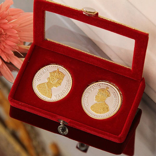 King and Queen Silver Coin (20 Gms)