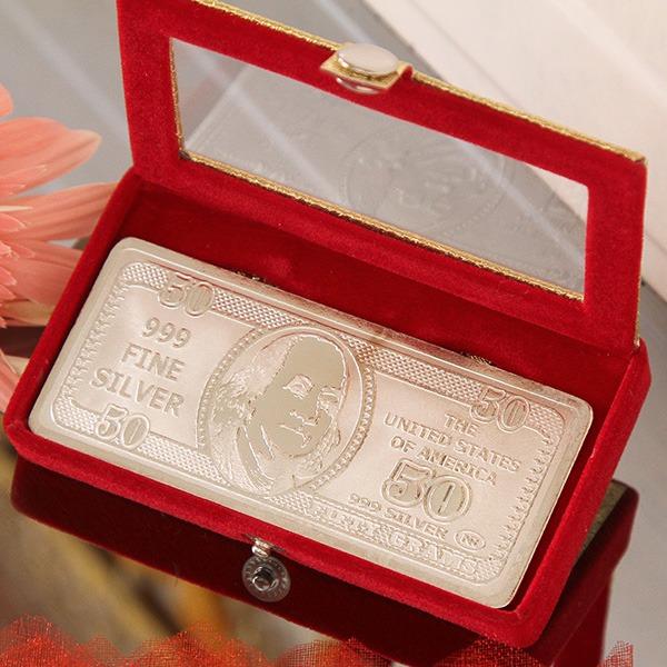 Silver Dollar (50 Gms)
