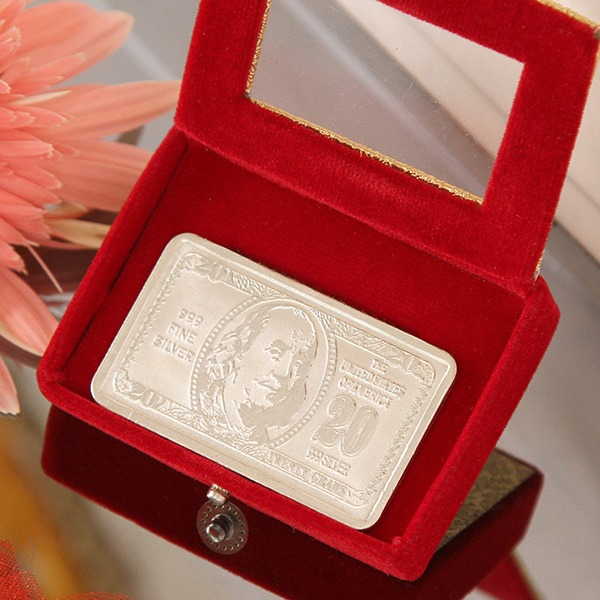 Silver Dollar (20 Gms)