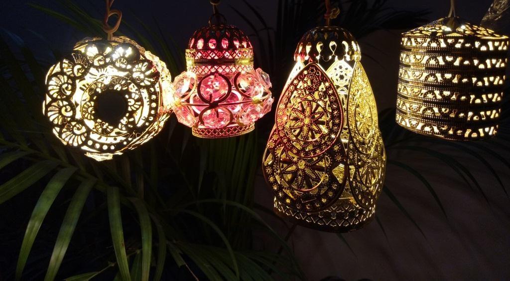Hanging Lamp- Pair of Four